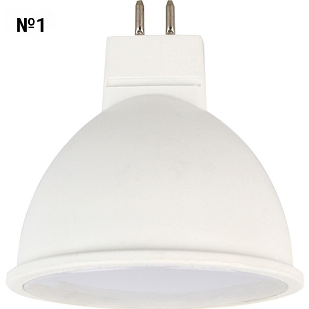 №1. Светодиодная лампа Ecola MR16