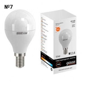 Светодиодная лампа GAUSS