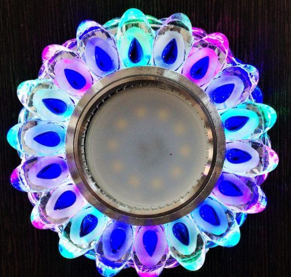 Светильник Reluce 42050-9.0-001PL CL/BL+MIX MR16+LED3W