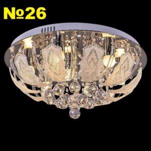 Светодиодная люстр 31324-2.3-7С CR