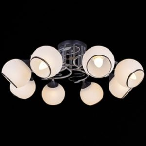 №022 31600-0,3-08 CR+BK светильник потолочный