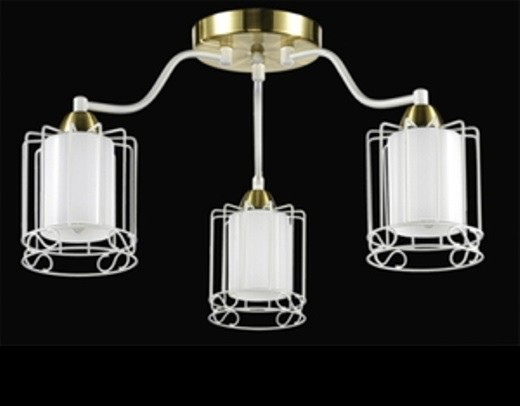 №105 IL3402-3CB-76 WT GD светильник потолочный