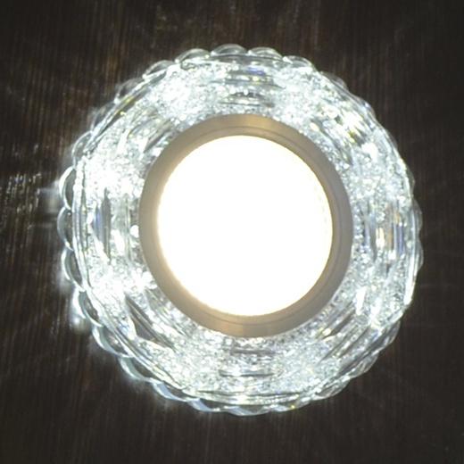 №18 Светильник 14310-9.0-001LD MR16+LED3W WT