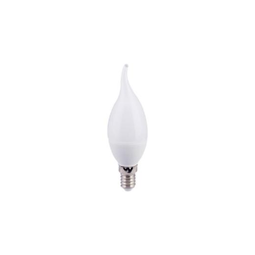 Лампа Ecola свеча на ветру 9W E14 (4000K)